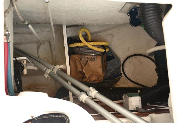 Additional Storage, For Oars, And Pumps For Dinghy