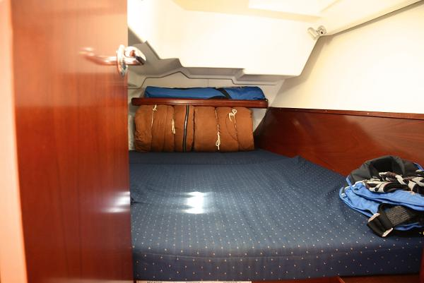 Berth Designed For Two In Comfort, Great Head Room