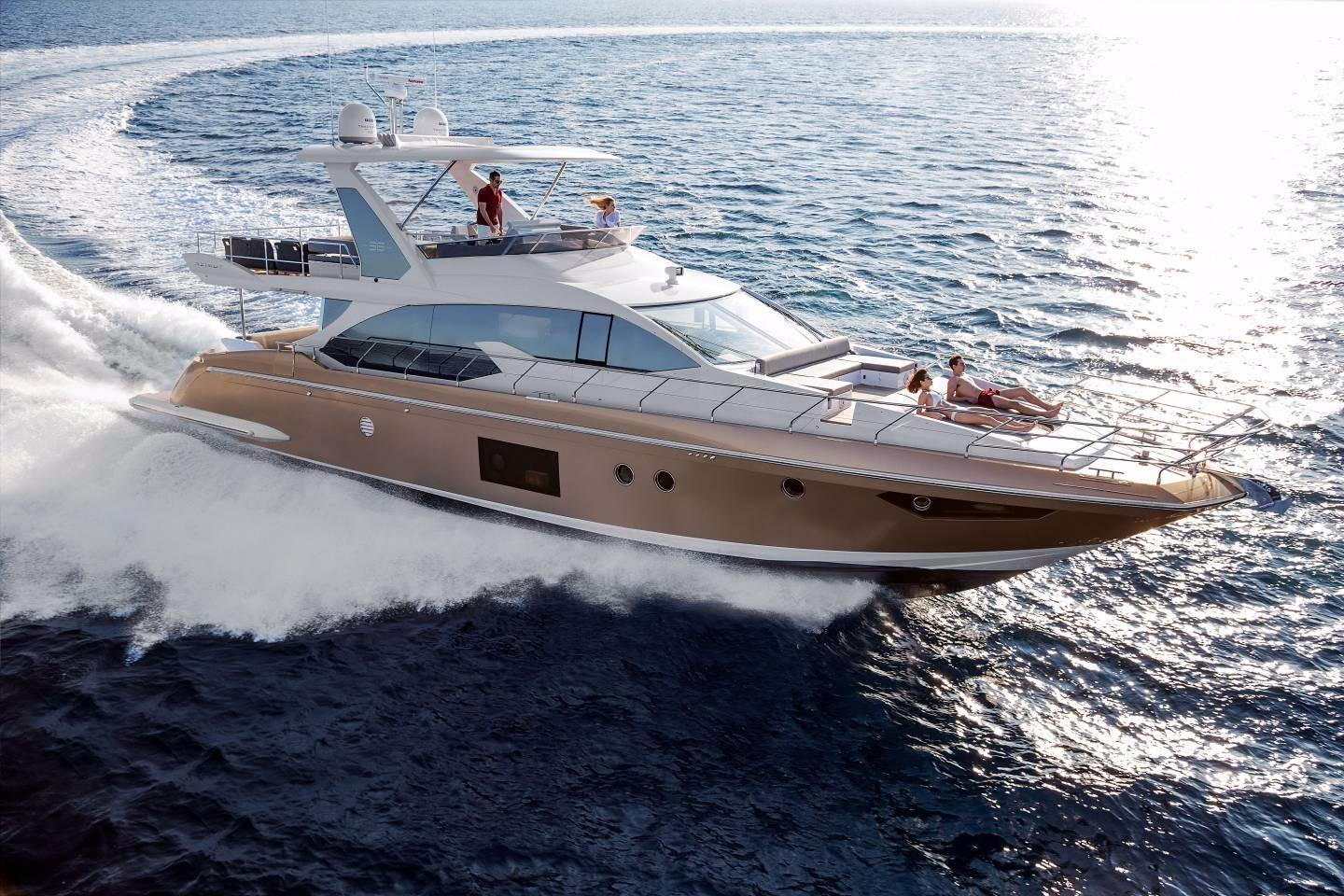 68 ft Azimut 66 Flybridge