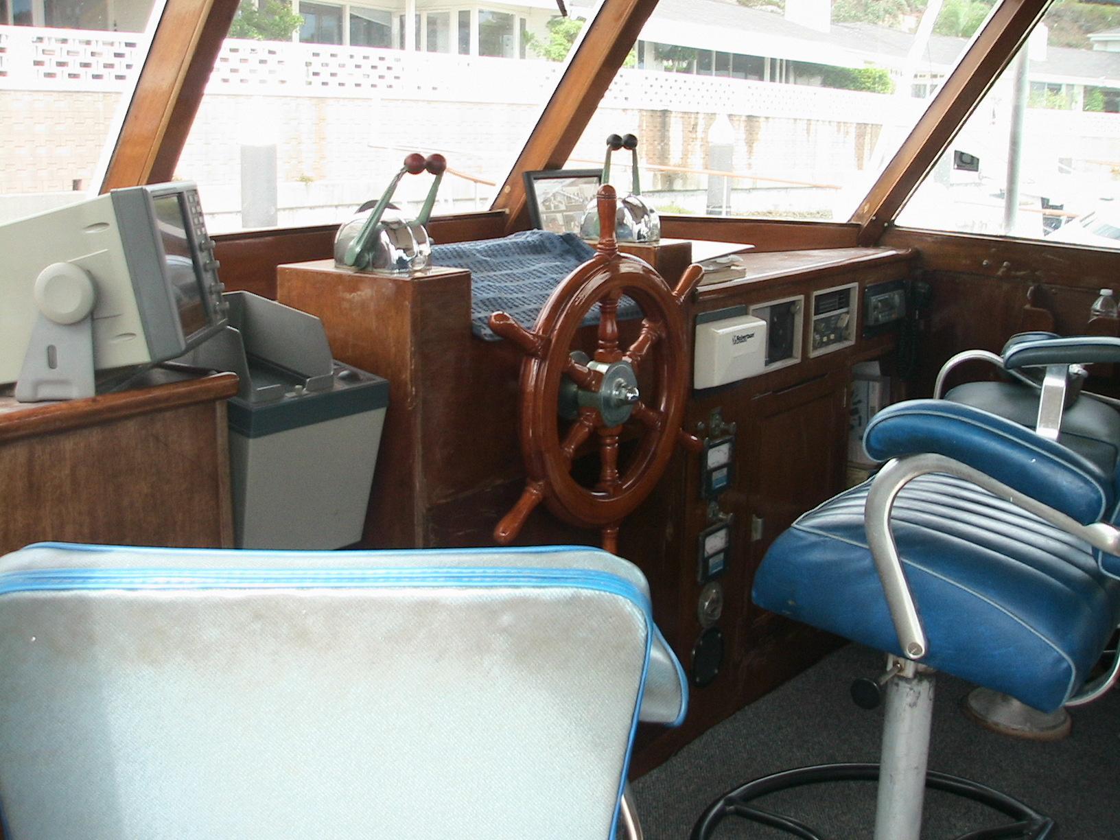 50' Stephens Classic Sedan 1970 | Seacoast Yachts