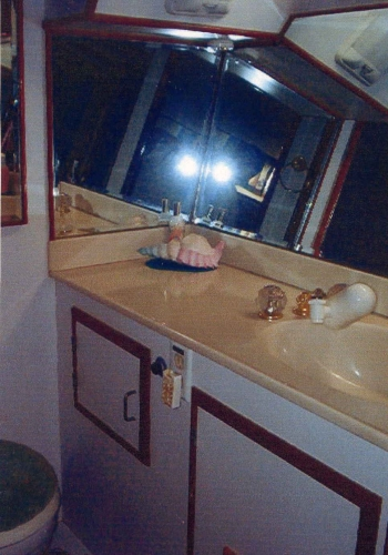Head In Master Stateroom