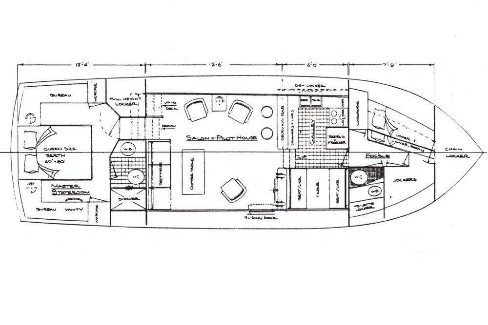 incentive ocean alexander 43 yachts for sale