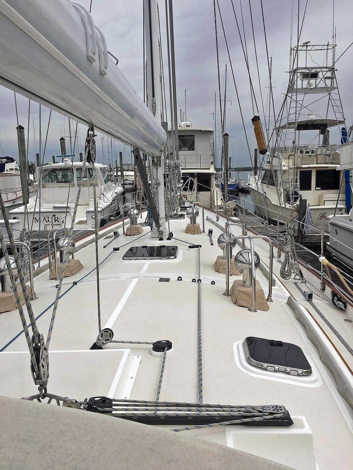 56 Cabo Rico Foredeck