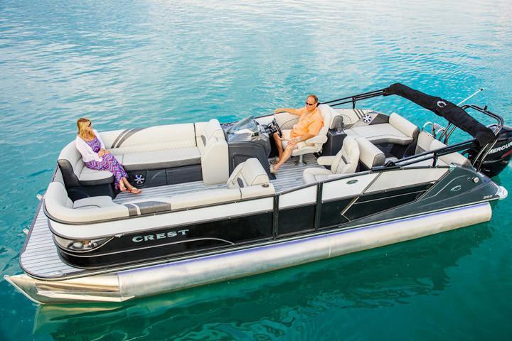2019 Crest Caribbean 250 SLS - Stryker's Lakeside Marina