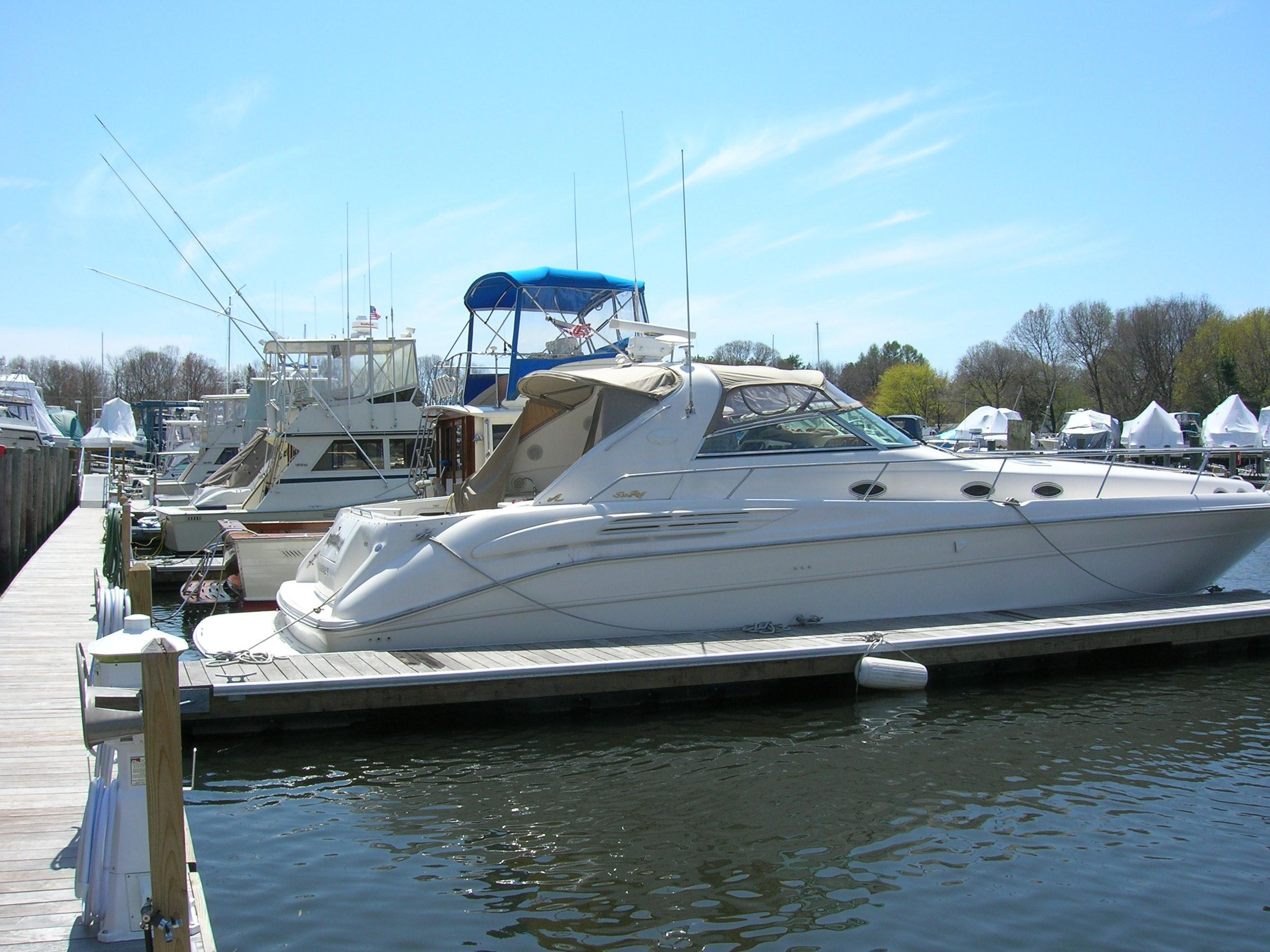 Fuhgeddabouit Yacht For Sale 45 Sea Ray Yachts Scituate Ma Denison Yacht Sales