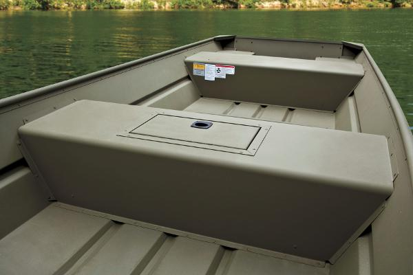 2015 Tracker Boats boat for sale, model of the boat is Topper 1542 LW Riveted Jon & Image # 4 of 12