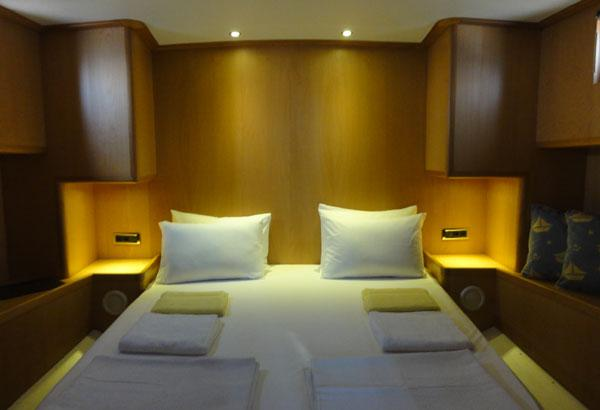 Master Cabin With En-suite Bathrooms.