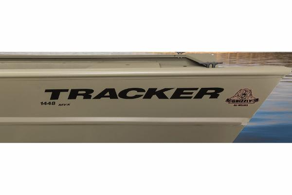 2015 Tracker Boats boat for sale, model of the boat is Grizzly 1448 Jon & Image # 10 of 14