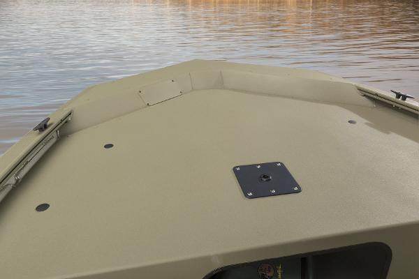 2015 Tracker Boats boat for sale, model of the boat is Grizzly 1648 Jon & Image # 2 of 14