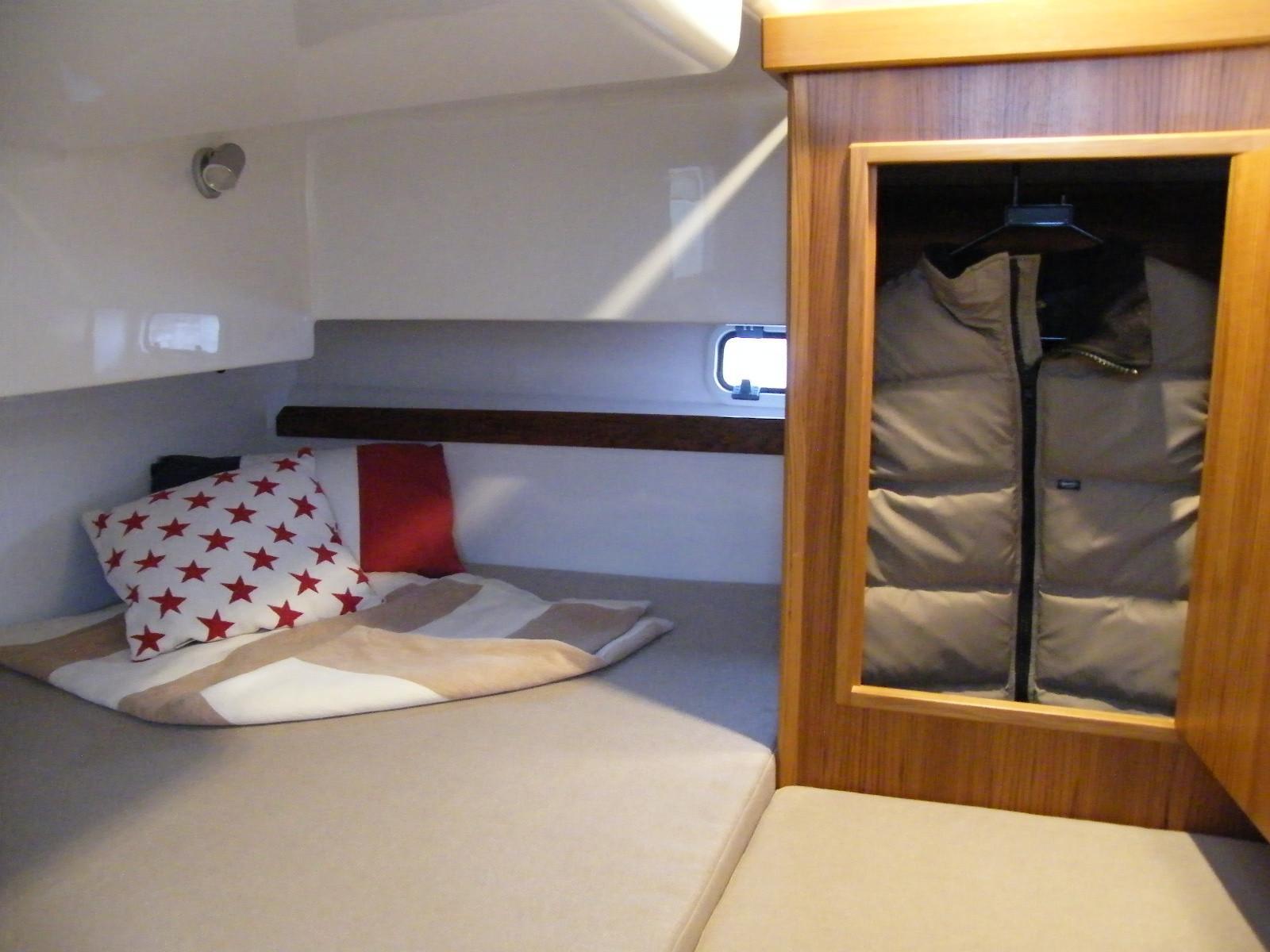 Sargo 31 aft cabin