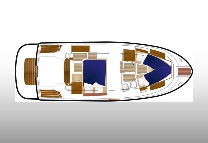 Sargo 31 deck plan