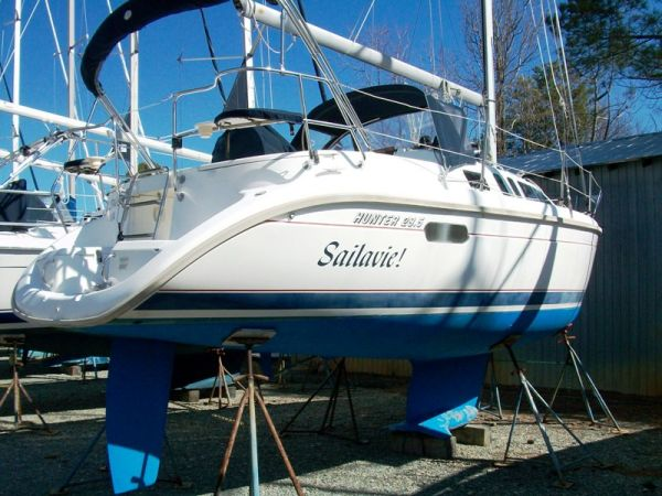 1996 Hunter 29.5 sloop | Sailboats for Sale