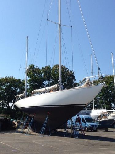 Abeking & Rasmussen Custom Yawl Broker New England