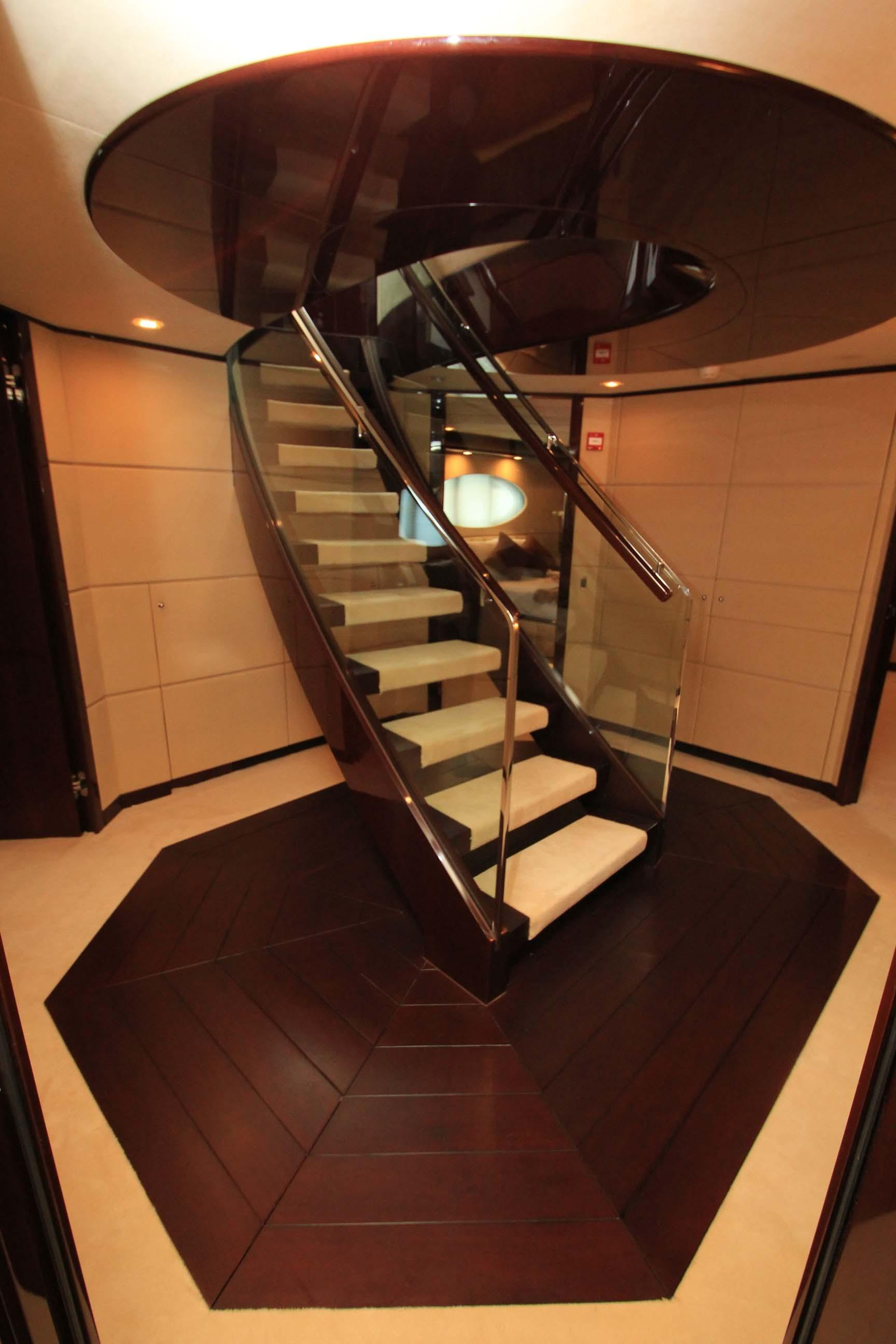 Foyer Stairs to Main Deck