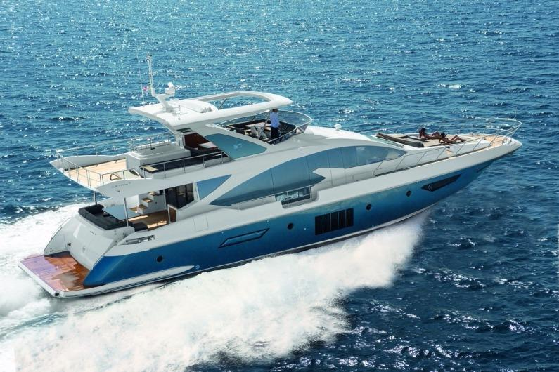 80 ft Azimut 80 Flybridge