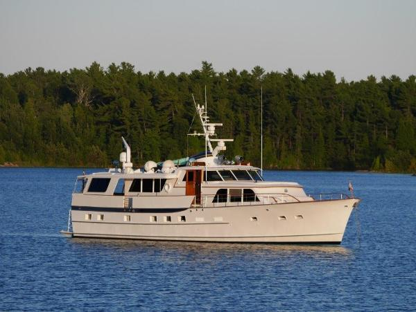 1968 72' Burger Raised Pilothouse