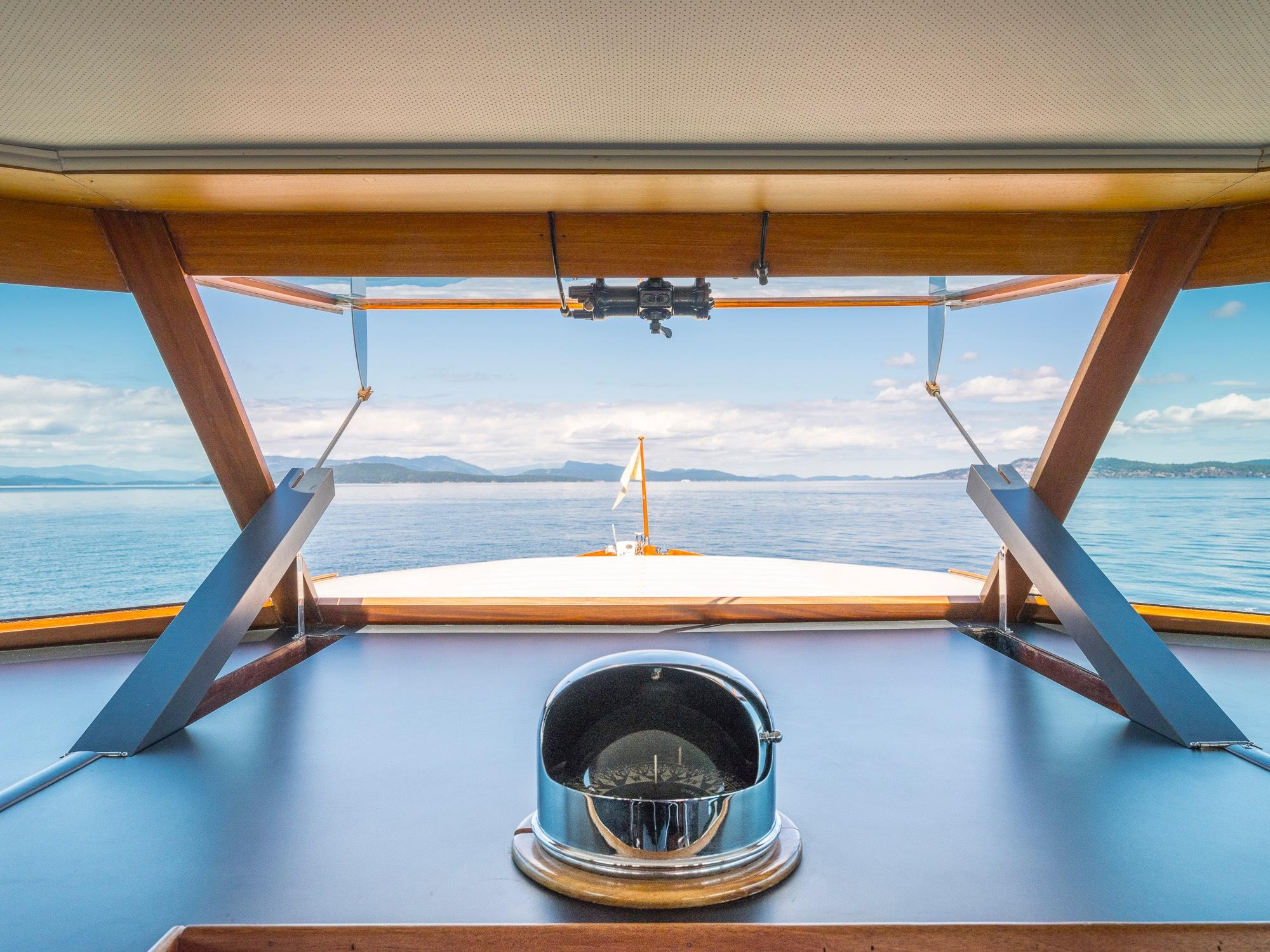 Pilothouse Window Detail