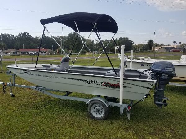 2018 Alumacraft boat for sale, model of the boat is Crapipe & Image # 2 of 14