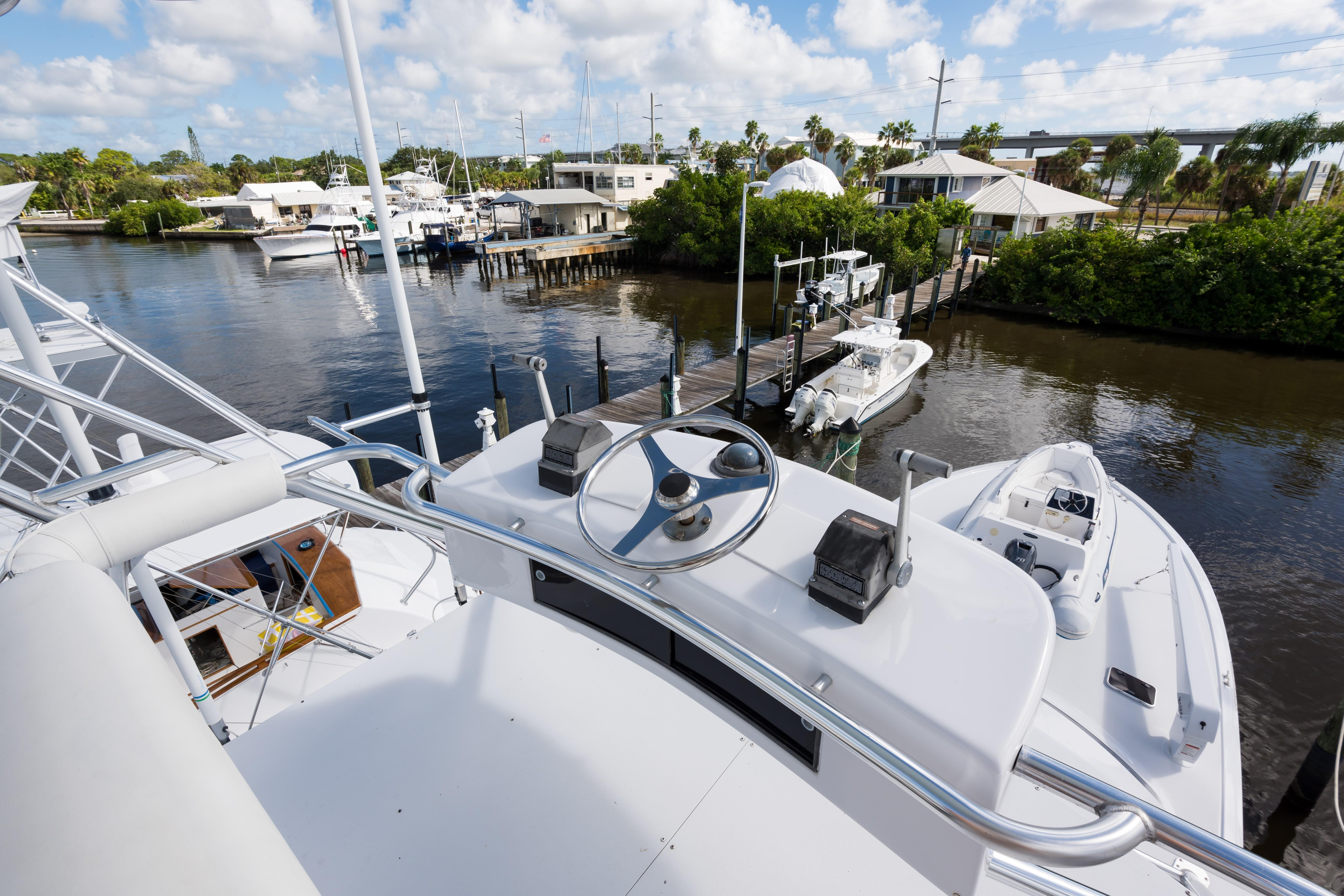 1998 Hatteras 60 Ft Yacht For Sale Allied Marine