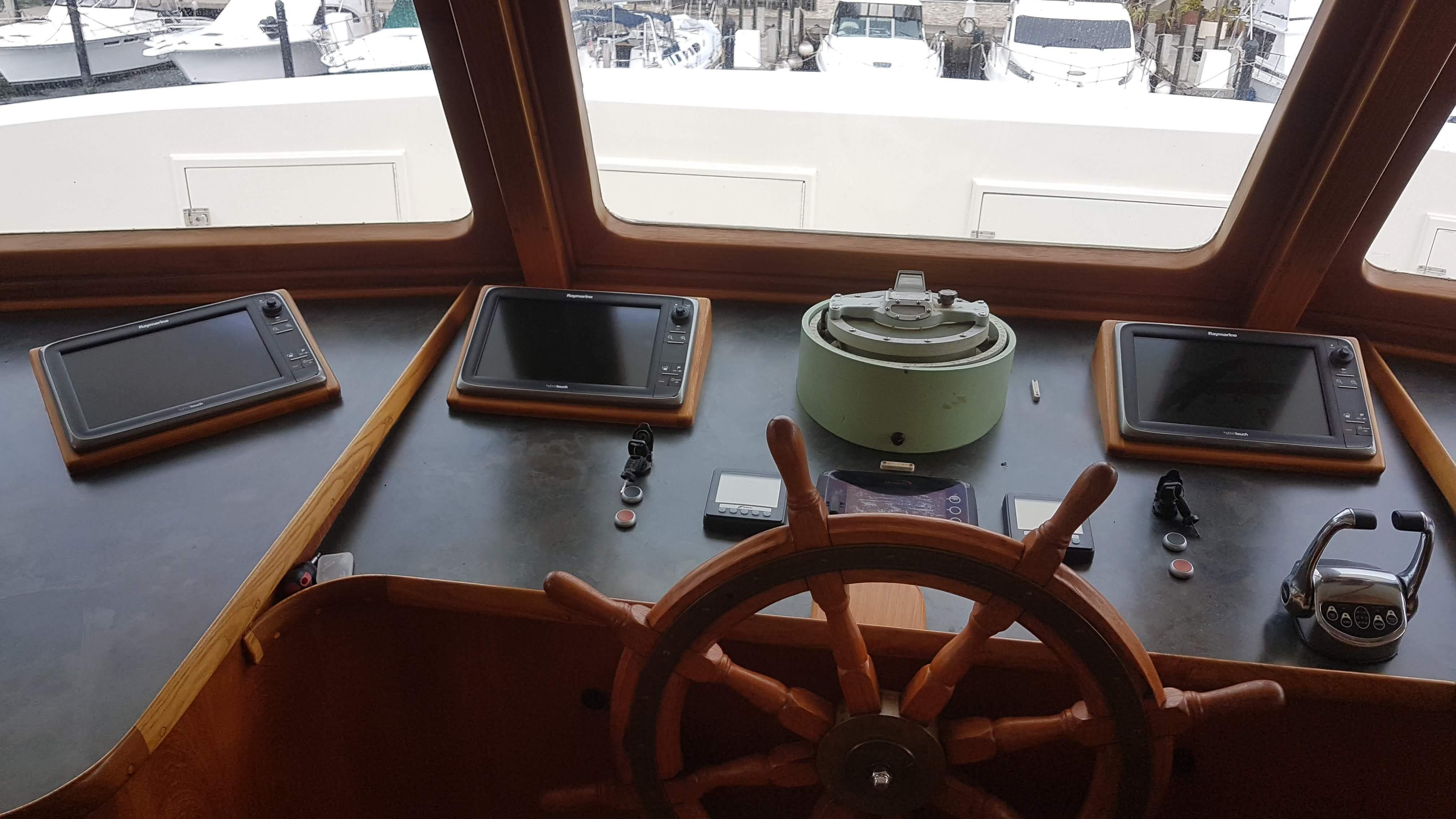 Instruments and steering