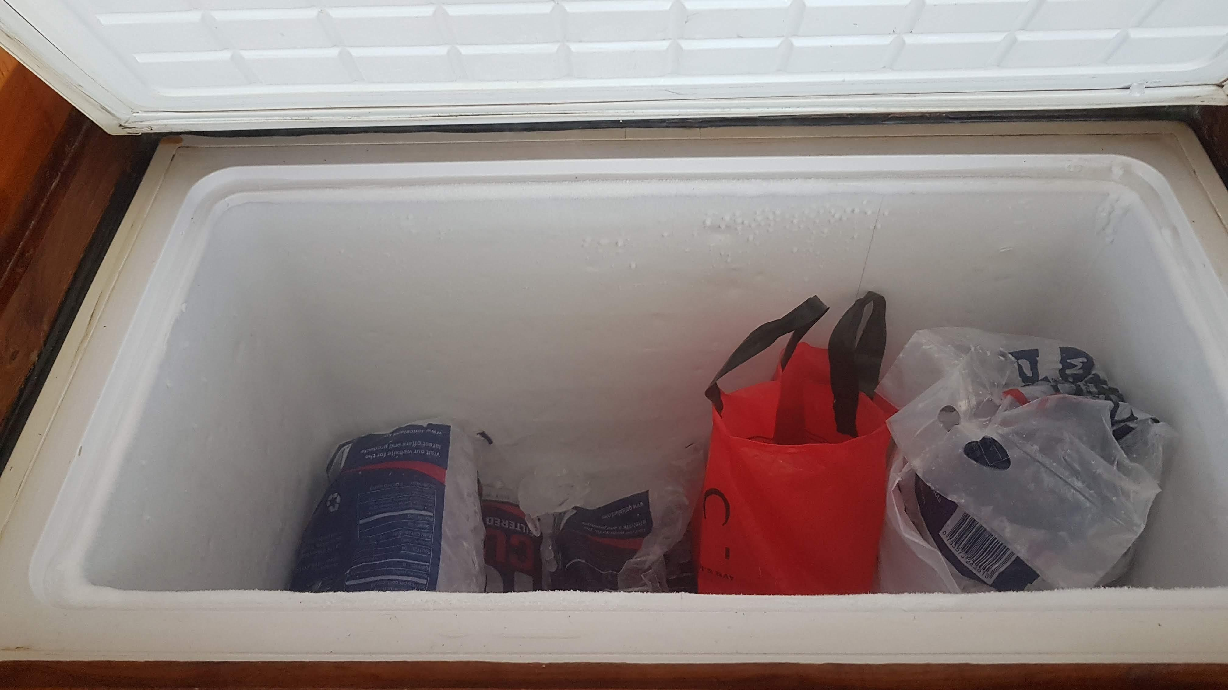 Main deck freezer