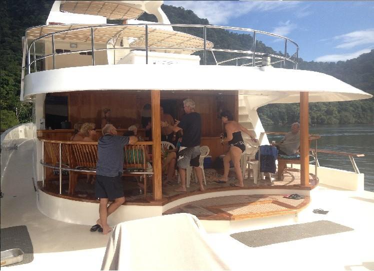 Aft main deck