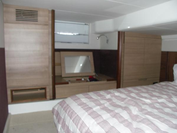 Sealine SC42/S450 - Aft Cabin Bespoke Furniture