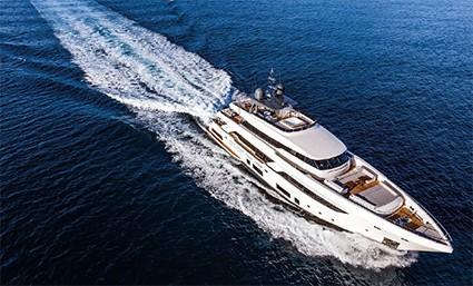 121.39 ft Ferretti Yachts Custom Line