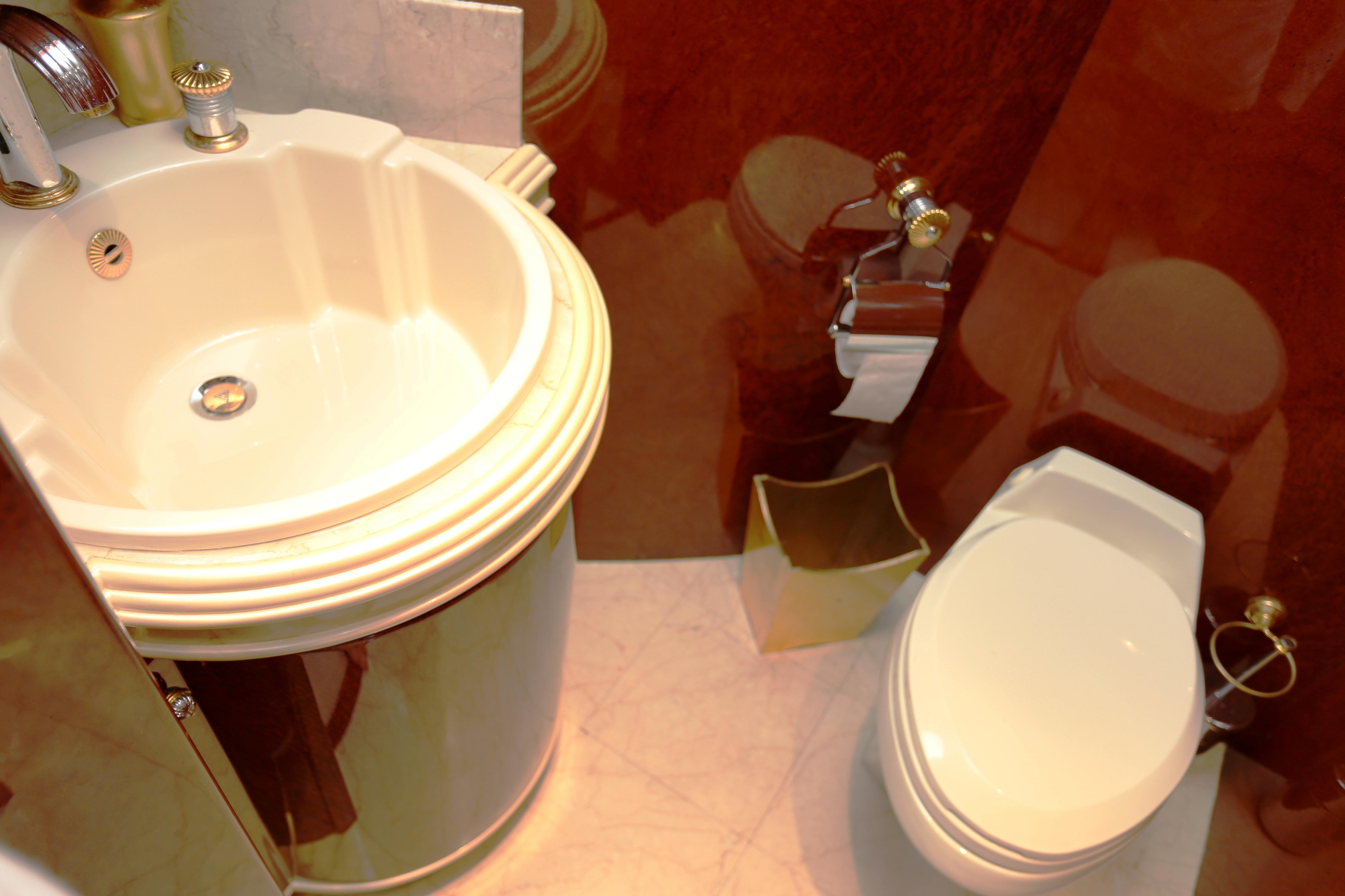 Millennium Yacht Guest Bath