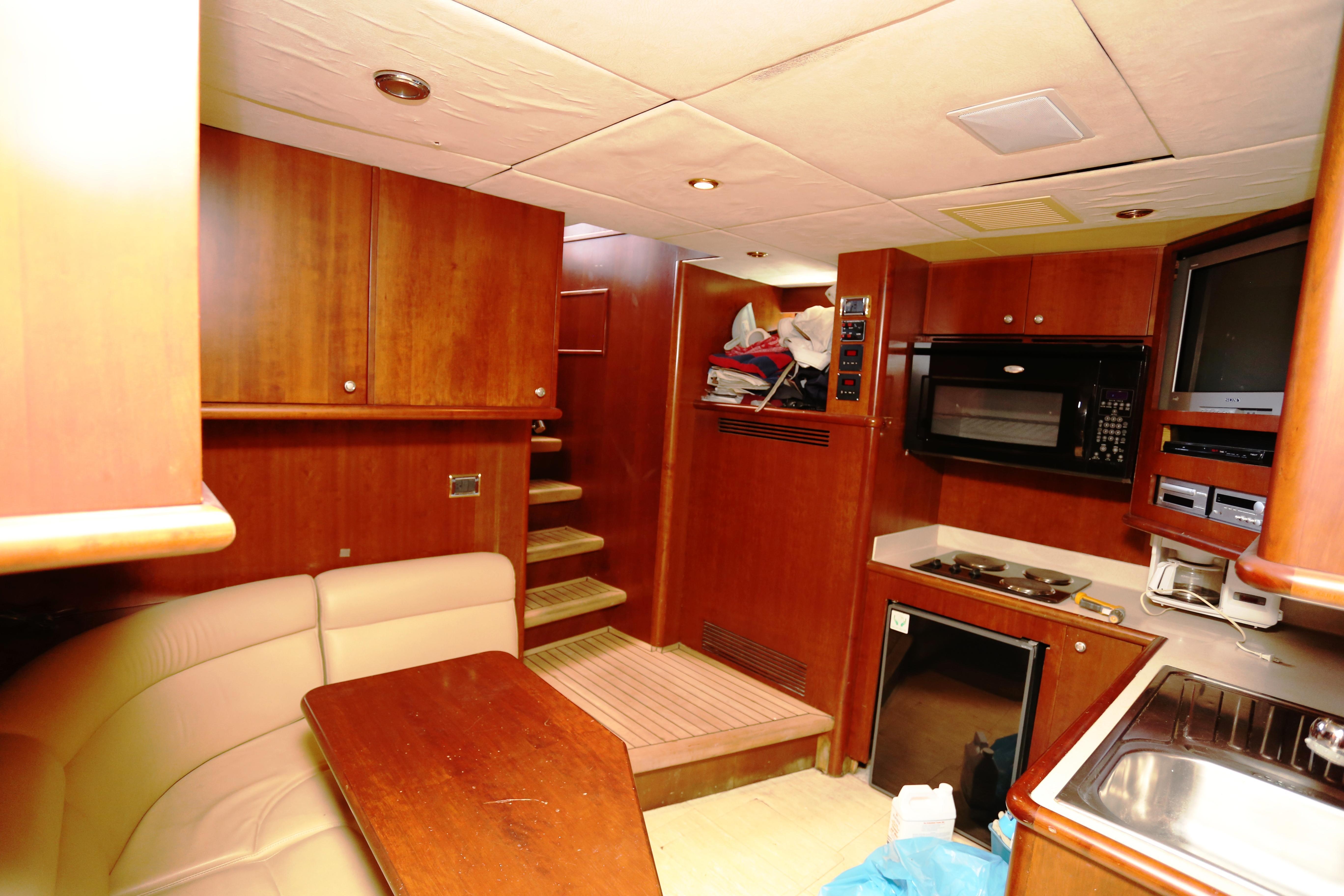 Millennium Yacht Crew Galley