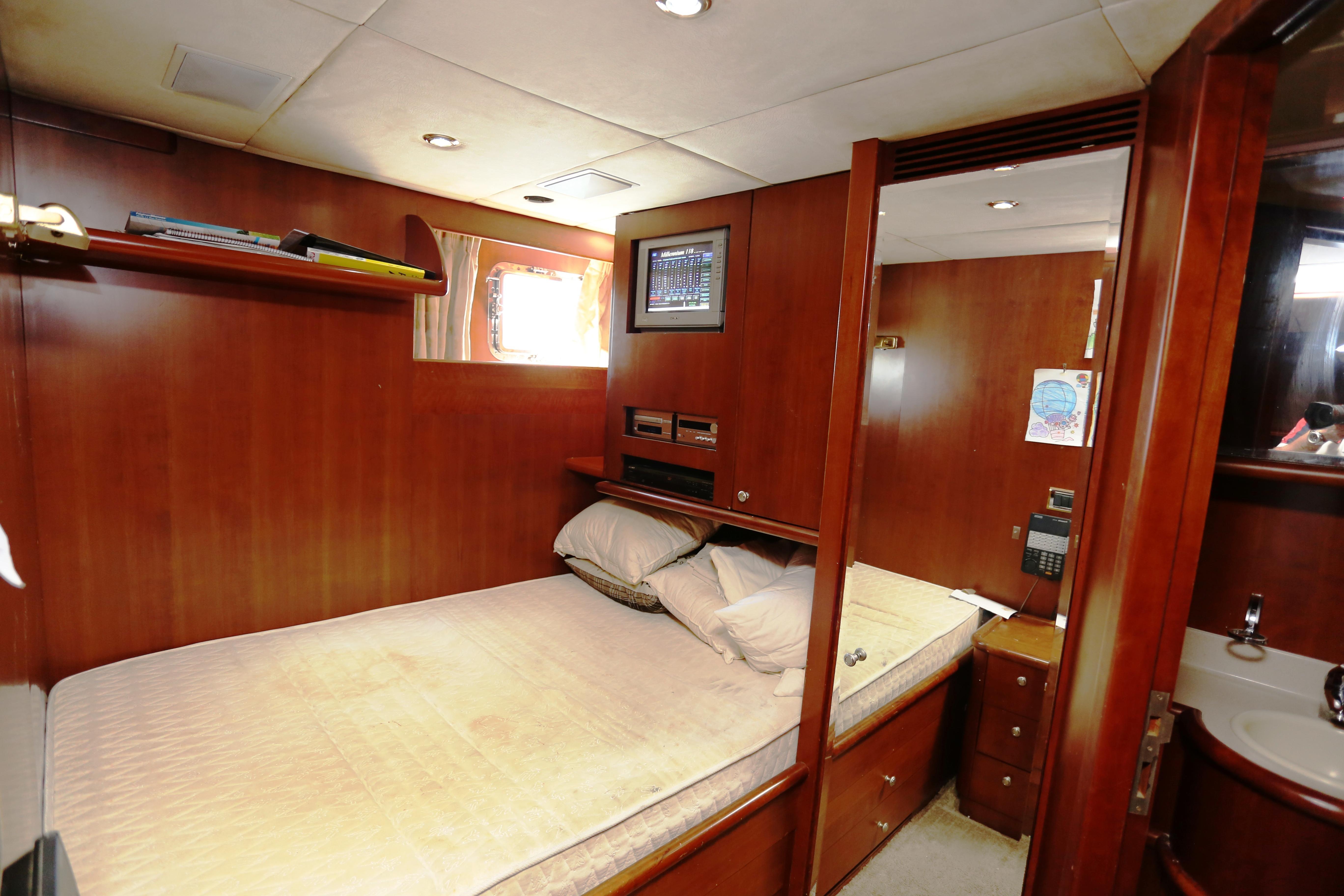 Millennium Yacht Crew Cabin