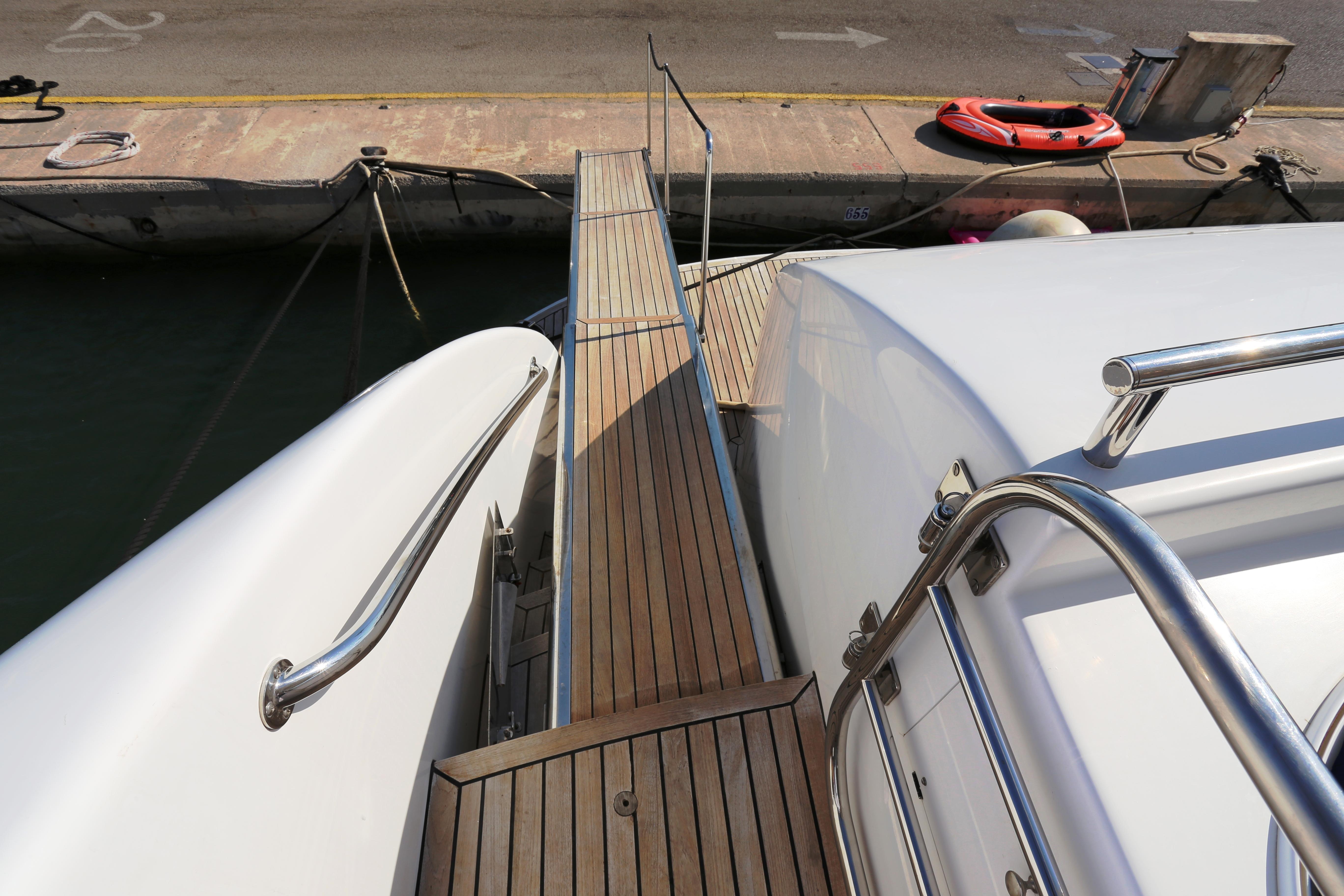 Millennium Yacht Aft