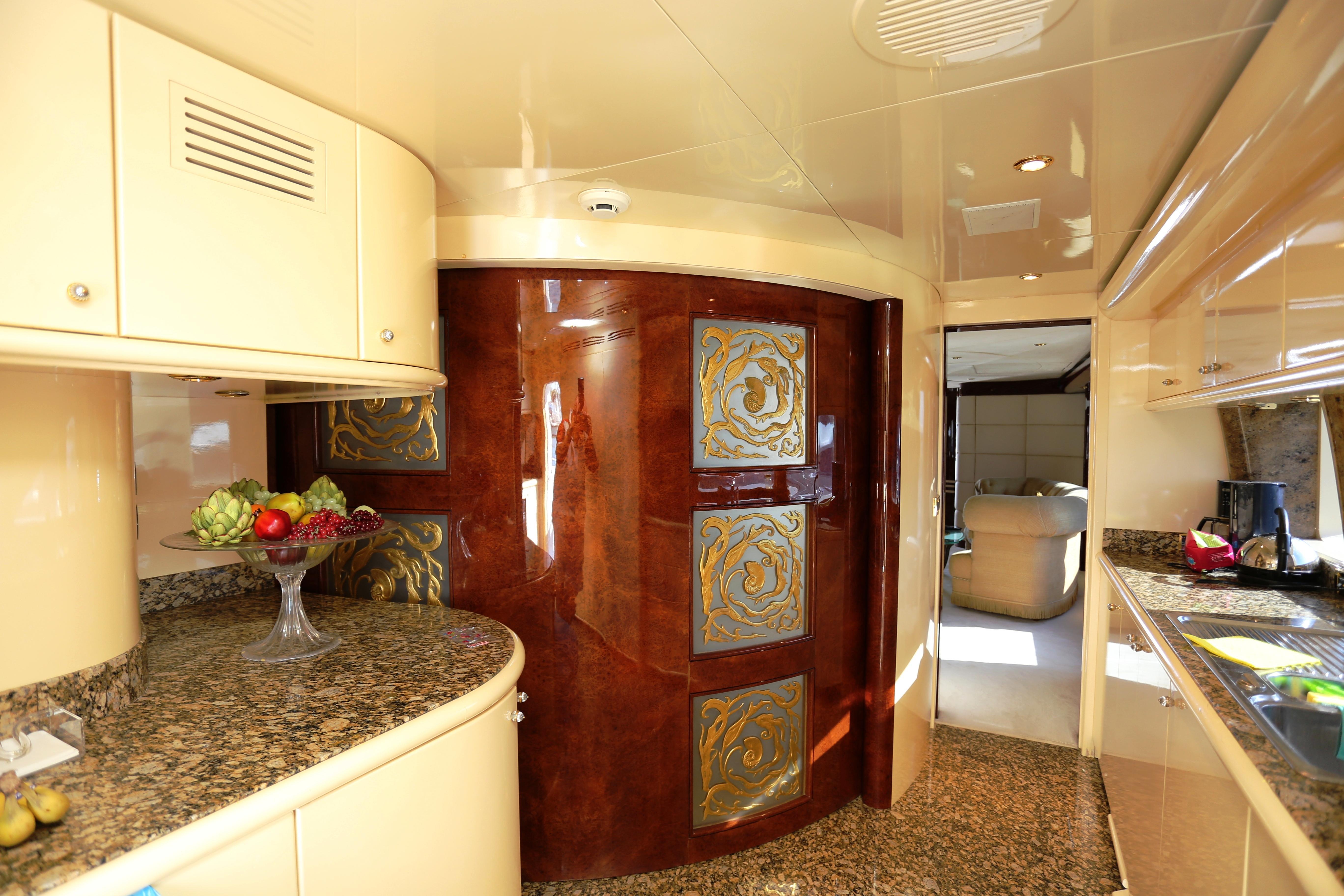 Millennium Yacht Galley