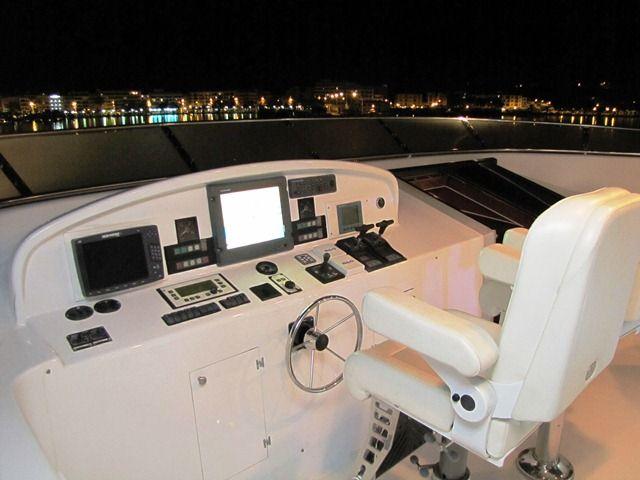 Millennium Yacht Flybridge