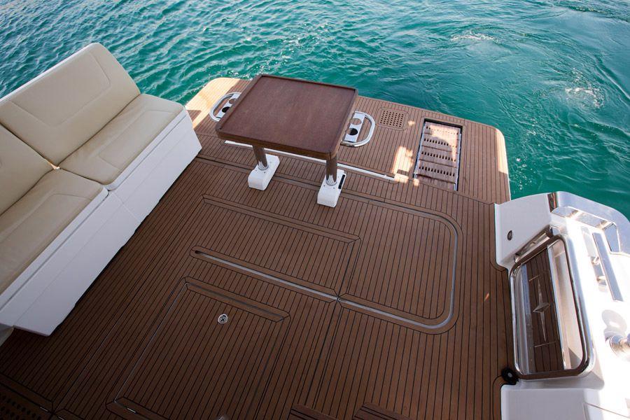 Manufacturer Provided Image: Bavaria Virtess 420 Fly Bathing Platform