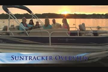 Sun Tracker Fishin' Barge 22 DLXvideo