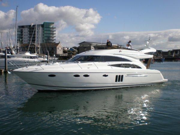 Princess 58 Flybridge boat for sale