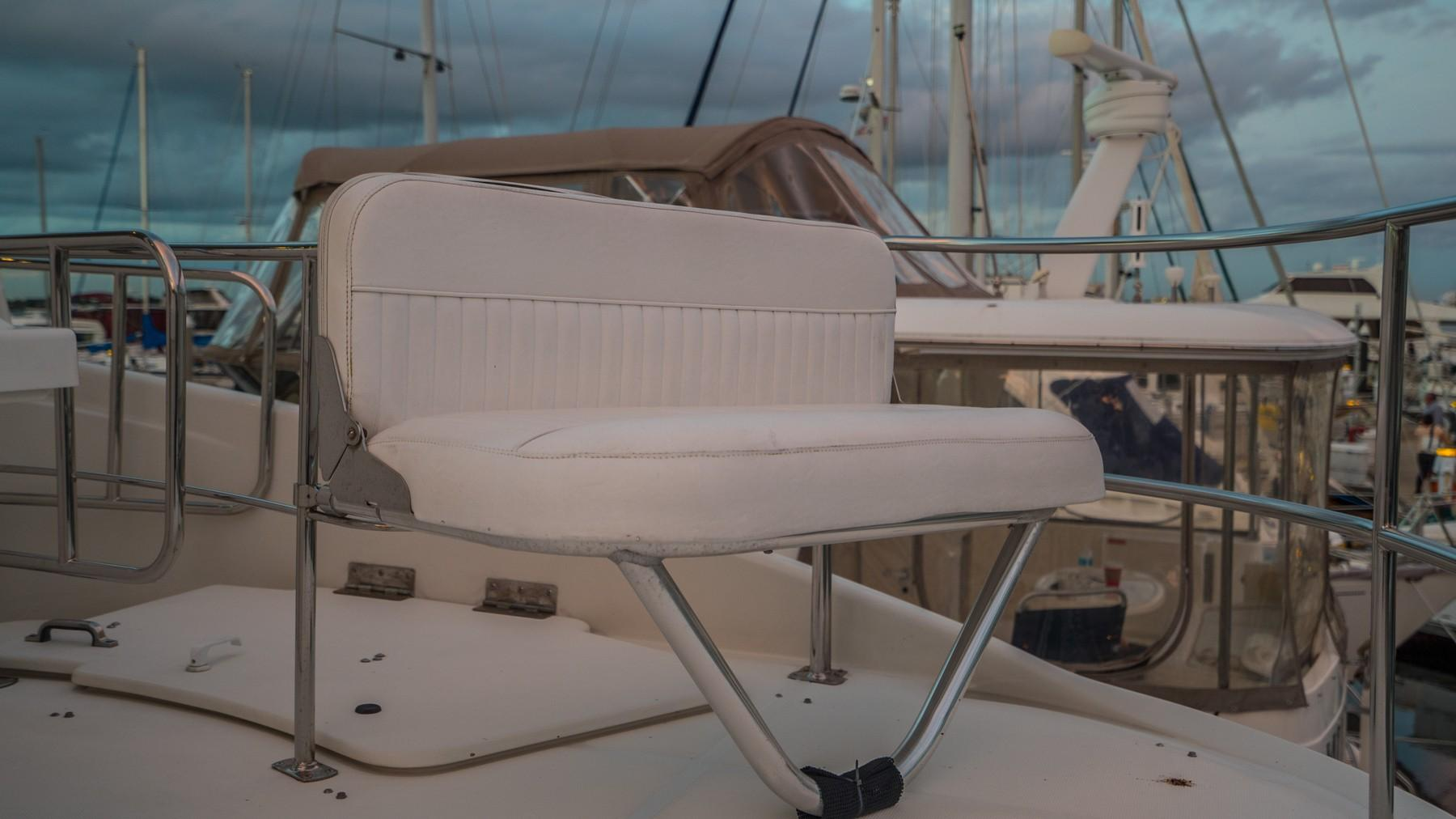 Aft Deck Fold Up Extra Bridge Seating