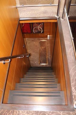 Aft stairwell