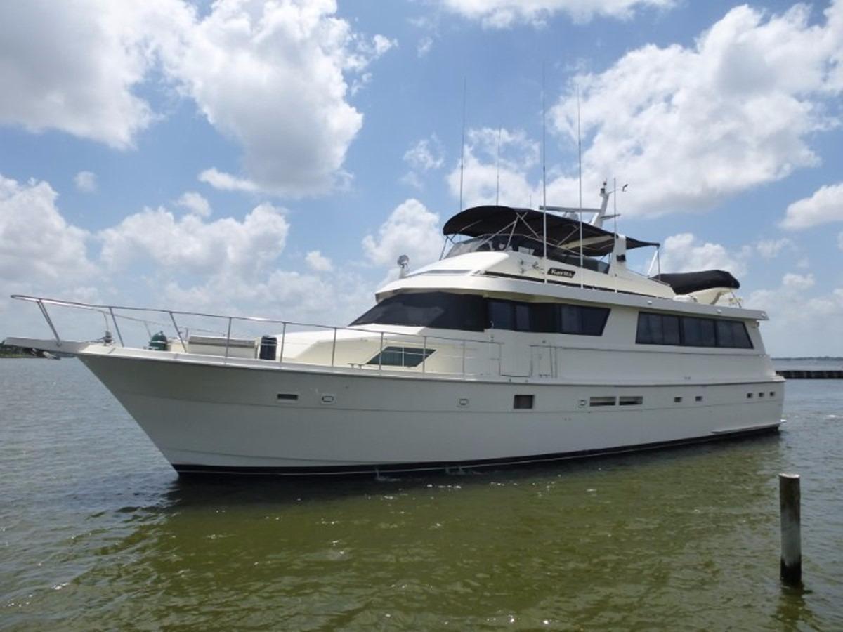 Hatteras 70 Motor Yacht - Portside