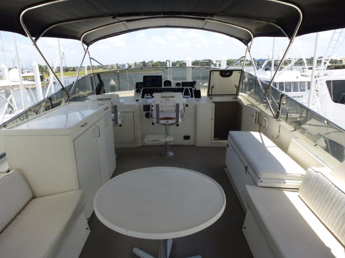 Hatteras 70 Motor Yacht - Bridge Deck