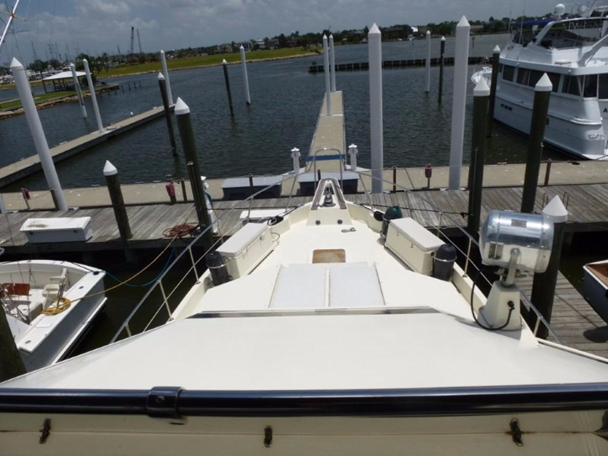 Hatteras 70 Motor Yacht - Bridge Looking Forward