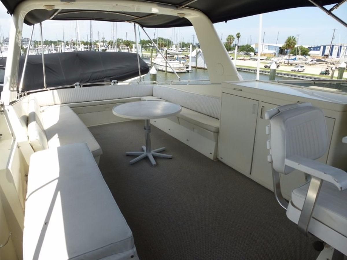 Hatteras 70 Motor Yacht - Bridge Deck Aft