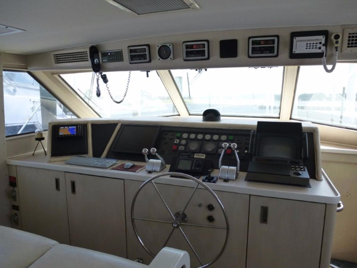 Hatteras 70 Motor Yacht - Pilothouse