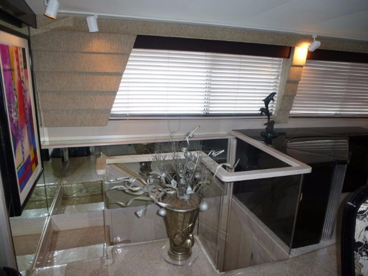 Hatteras 70 Motor Yacht - Master Entrance