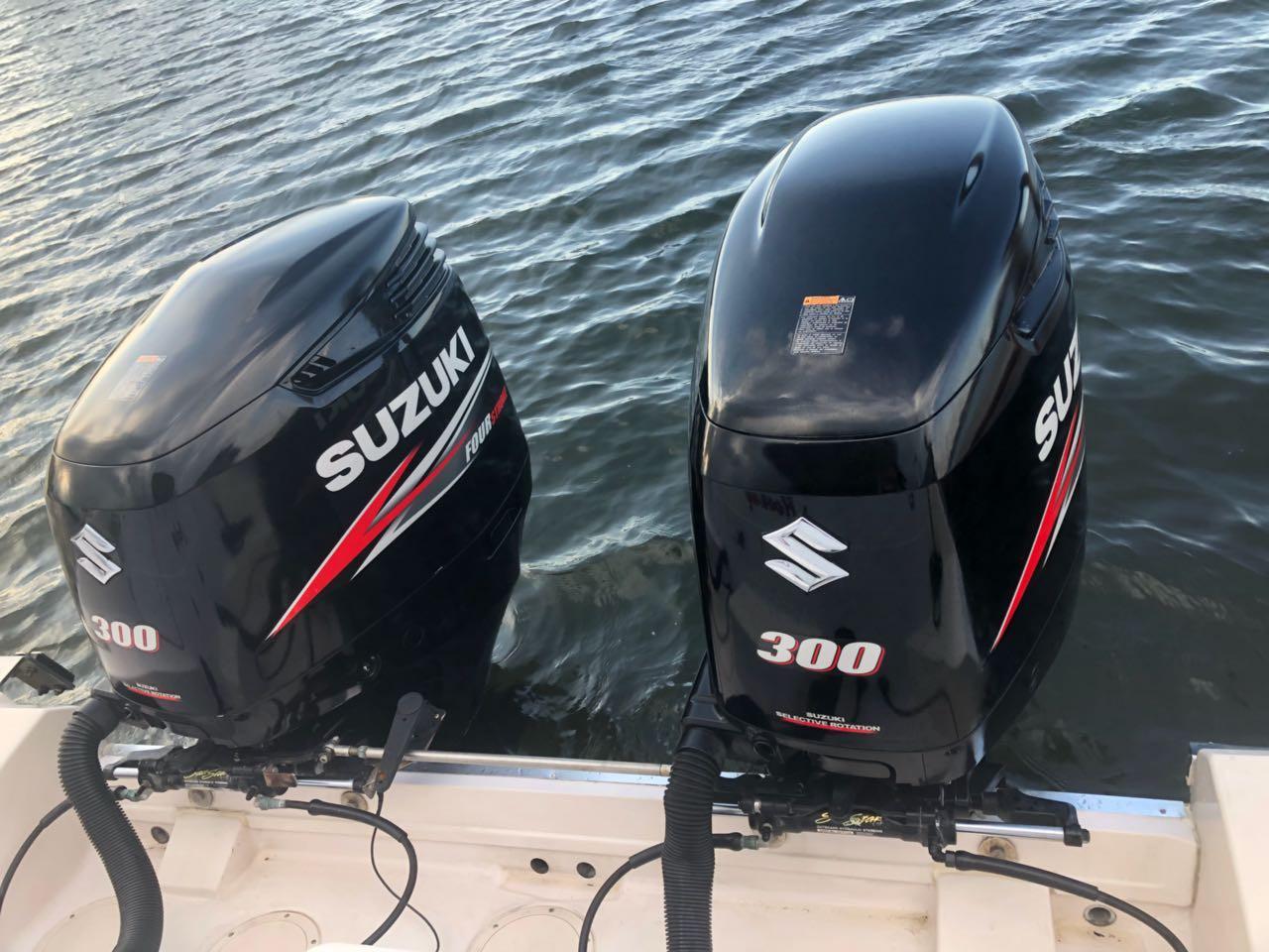2015 Suzuki 300hp Outboards