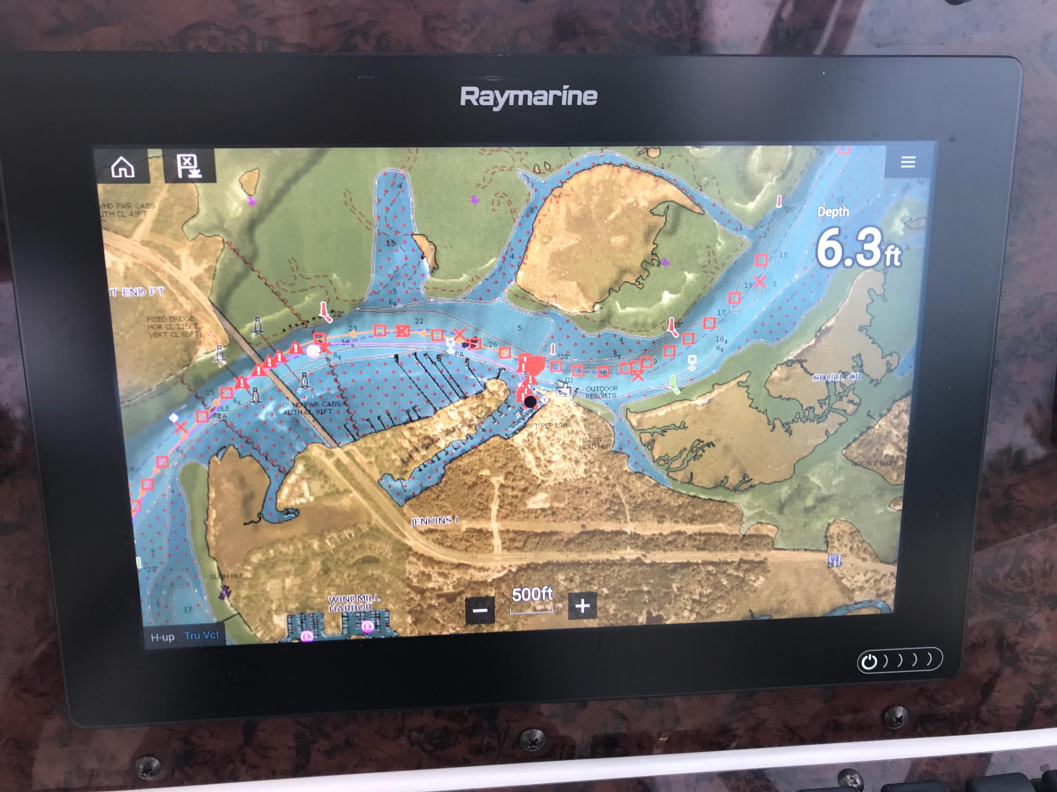 Sea Ray 370 Express Cruiser - Raymarine Axiom Touch Screen Display