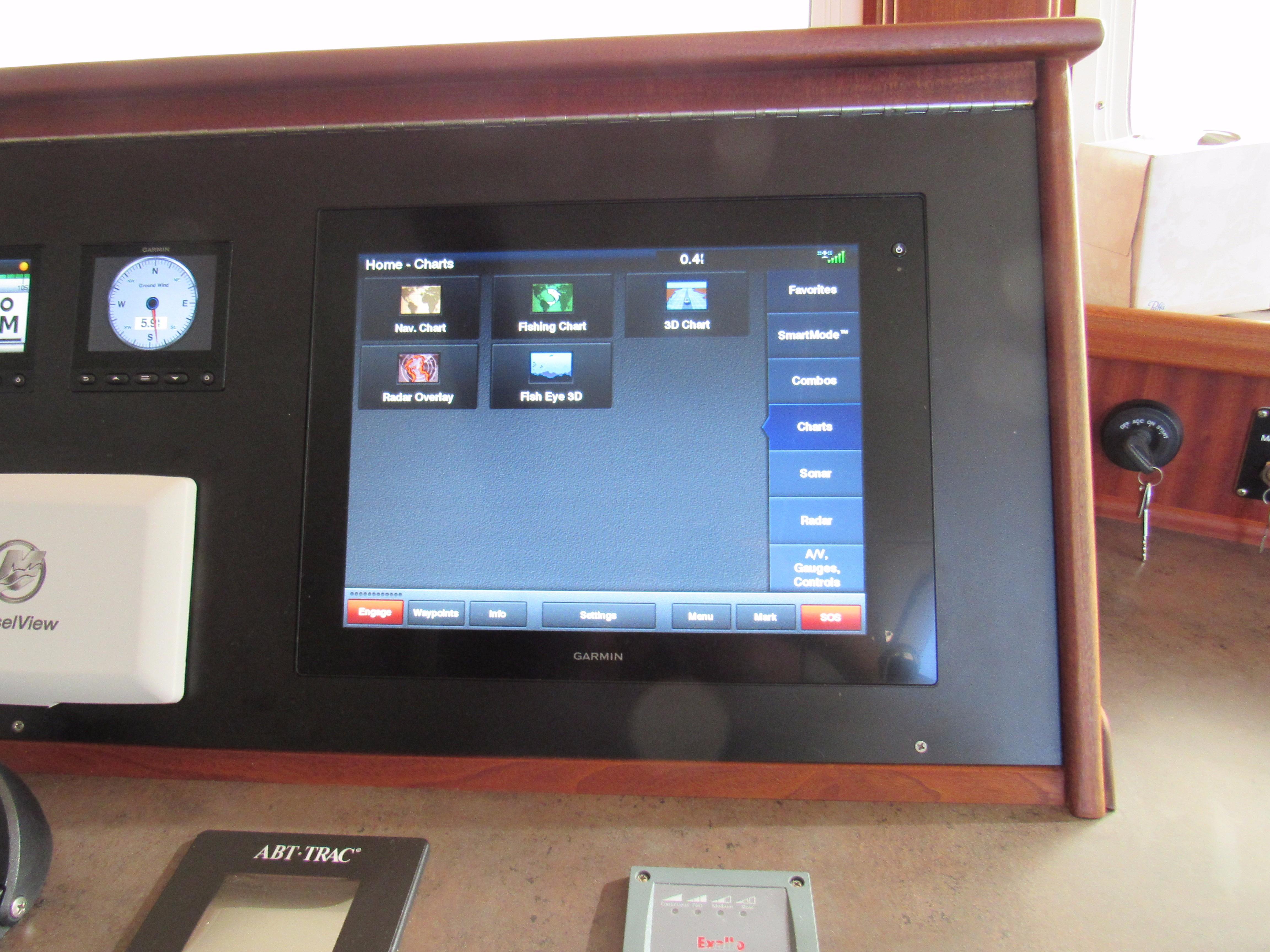 Garmin Touch Screen