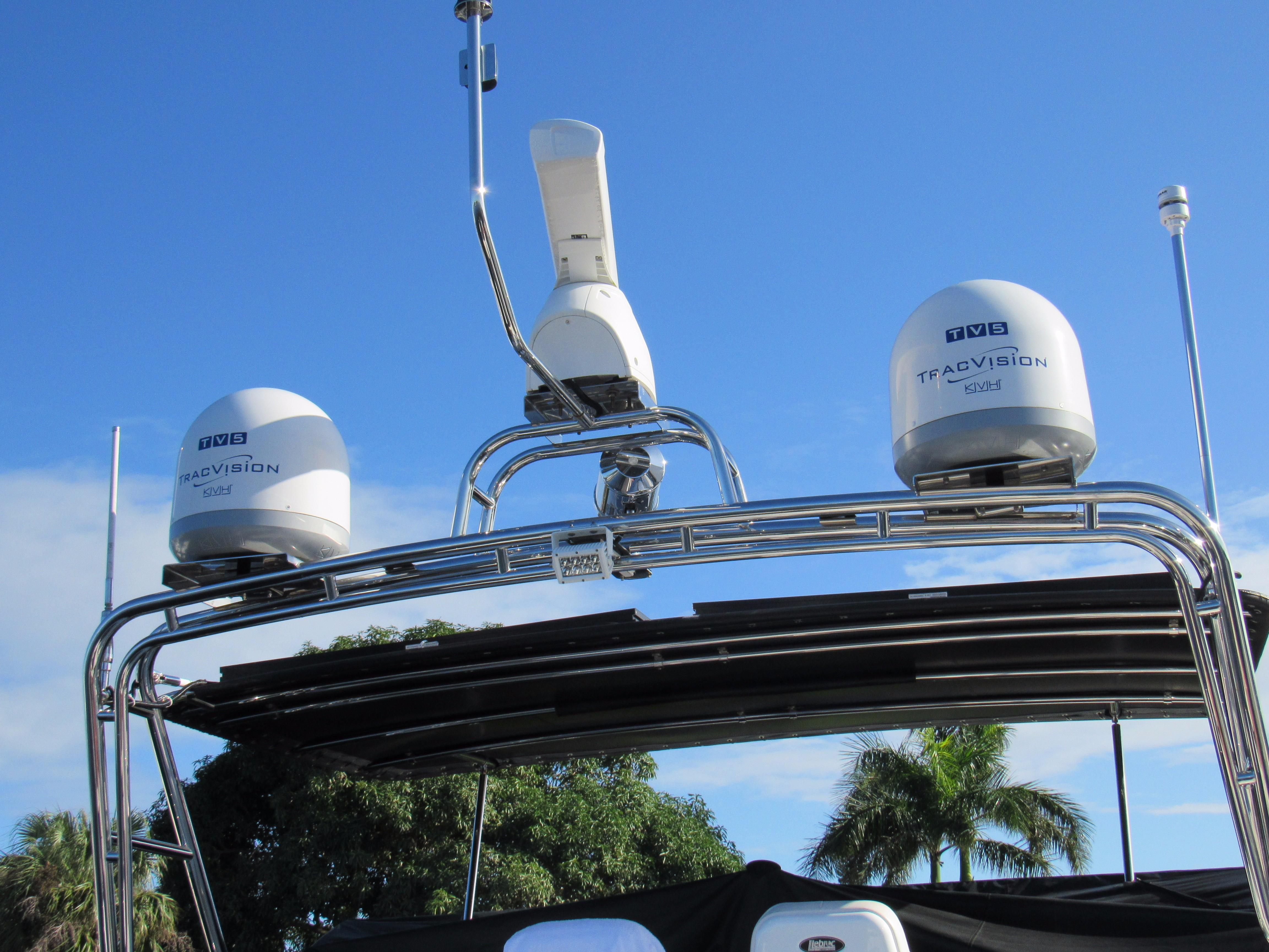 72 Mile Radar and TracVision TV