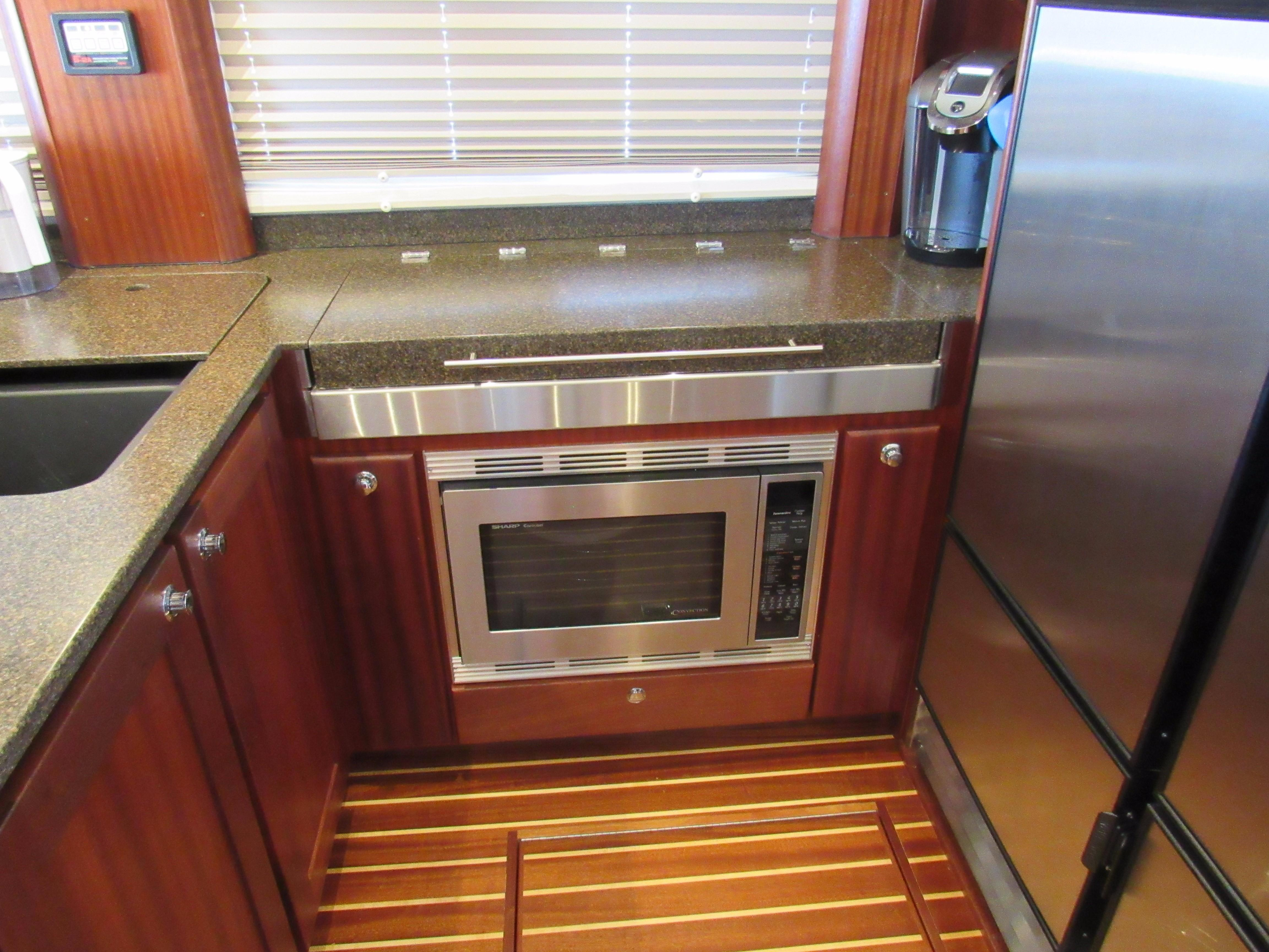 Hidden CookTop and Microwave/Convection Oven